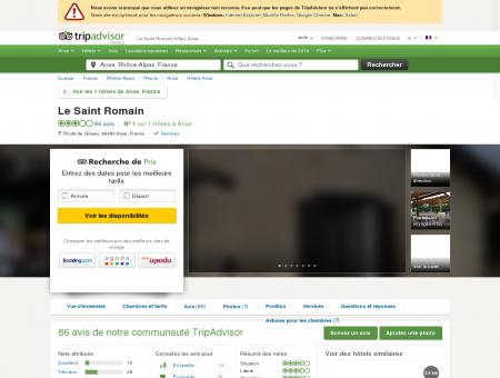 Le Saint Romain Hotel (Anse) : voir 78 avis et 7...