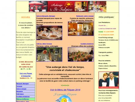 Auberge Le Saint-Sulpice, Restaurant,...