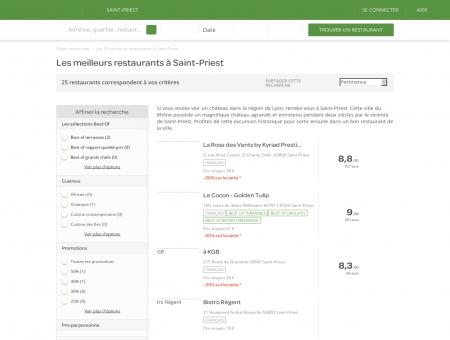 Les 10 meilleurs restaurants à Saint-Priest -...