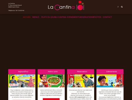 Restaurant Saint Priest | la-cantina.fr