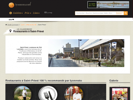 Restaurants Saint-Priest - Lyonresto - le guide...