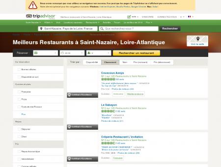 Les 10 meilleurs restaurants à Saint-Nazaire -...