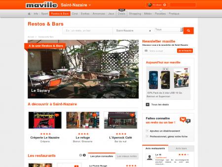 Restaurant & bar Saint-Nazaire. Guide...