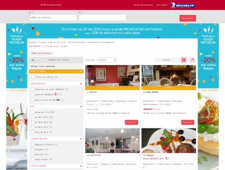 Restaurants 44600 Saint-Nazaire - MICHELIN...