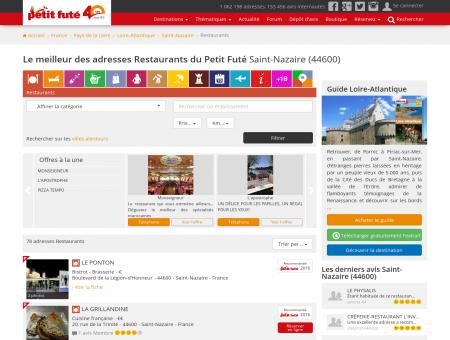 Restaurants Saint-Nazaire, le meilleur des...