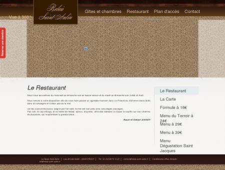 Le Restaurant « Relais Saint-Aubin ...