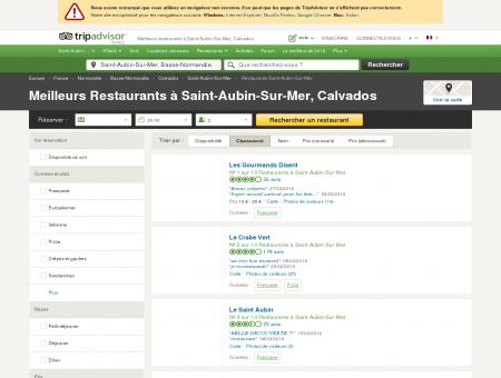 Les 10 meilleurs restaurants à Saint-Aubin-Sur...