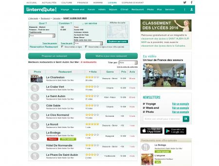 Restaurant Saint Aubin Sur Mer : Le guide des...