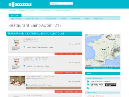 Restaurant Saint-Aubin (21) -...