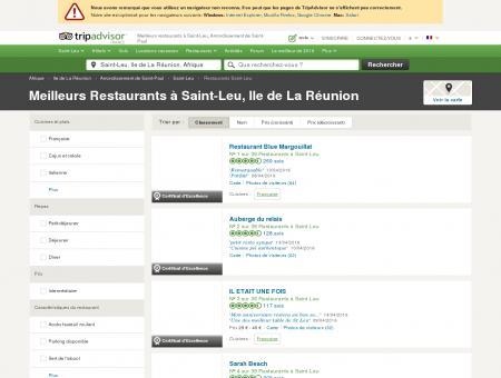 Les 10 meilleurs restaurants à Saint-Leu -...