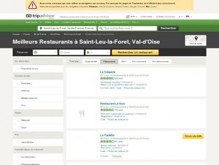 Les 10 meilleurs restaurants à Saint-Leu-la...