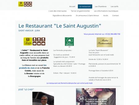 Le restaurant Le Saint Augustin à Saint...