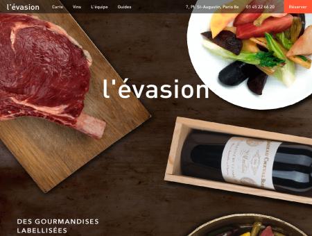 Restaurant l'Evasion Paris 8 - Place Saint...