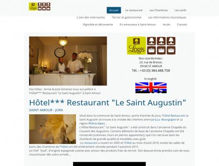 Site de l'hôtel Restaurant Logis le-saint...