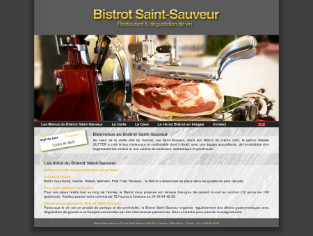 Bistrot Saint-Sauveur - Restaurant &...