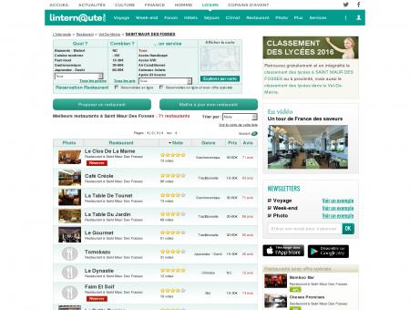Restaurant Saint Maur Des Fosses : Le guide...