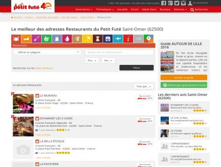 Restaurants Saint-Omer, le meilleur des...