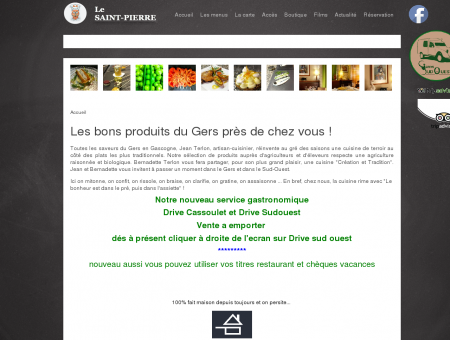 Le Saint Pierre, restaurant gastronomique à...