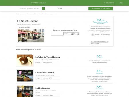 Réservation Restaurant | le-saint-pierre.lafourchette.com