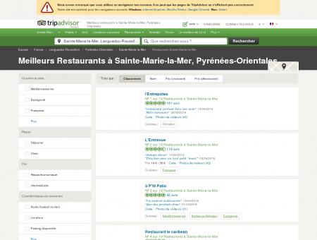 Les 10 meilleurs restaurants à Sainte-Marie-la...