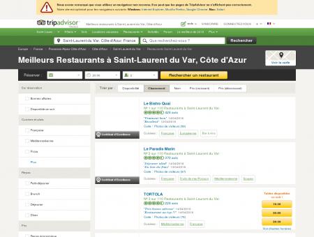 Les 10 meilleurs restaurants à Saint-Laurent...