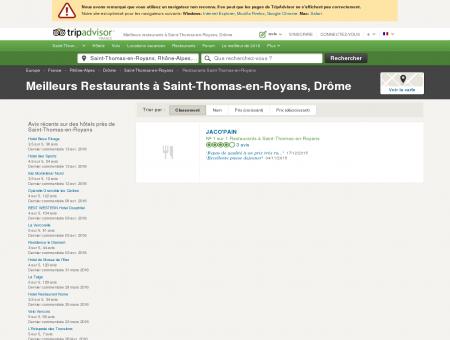 Les meilleurs restaurants à Saint-Thomas-en...