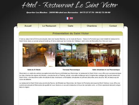 Présentation du Saint Victor - Hotel...