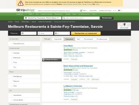 Les 10 meilleurs restaurants à Sainte-Foy...