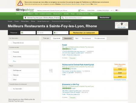 Les 10 meilleurs restaurants à Sainte-Foy-les...