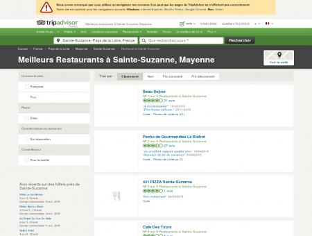 Les 5 meilleurs restaurants à Sainte-Suzanne -...