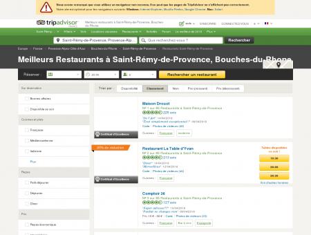 restaurant saint-r�my