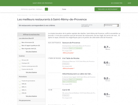 restaurant saint-r�my