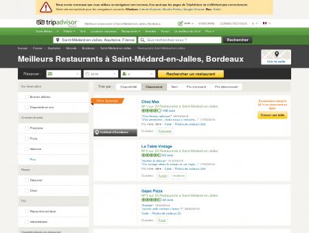 Les 10 meilleurs restaurants à Saint-Médard...