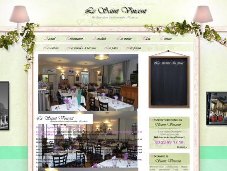 Restaurant Saint Vincent Soissons. Pizzeria...