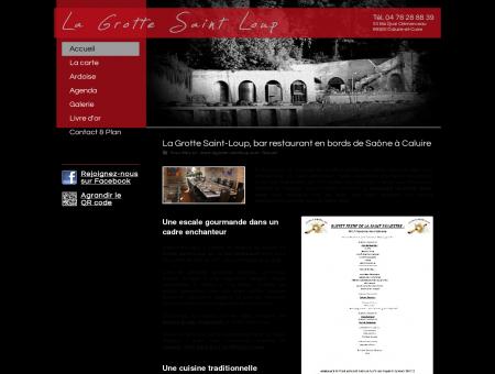La Grotte Saint-Loup, bar restaurant en bords...