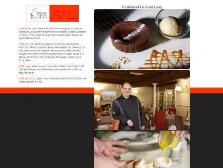 Restaurant Le Saint Loup, halte...