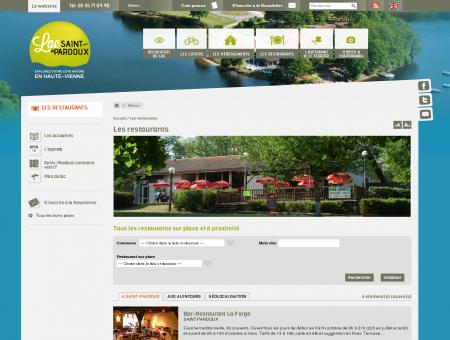 Lac Saint Pardoux - Les restaurants