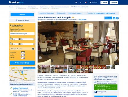Hôtel Restaurant du Lauragais hôtel 2 étoiles