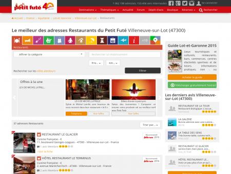 Restaurants Villeneuve-sur-Lot, le meilleur...
