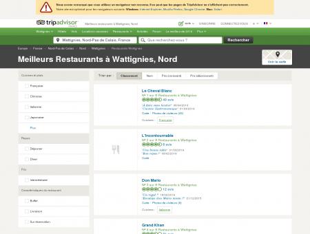 Les 5 meilleurs restaurants à Wattignies -...