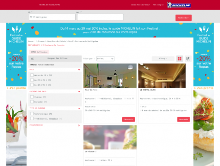 Restaurants 59139 Wattignies - MICHELIN...