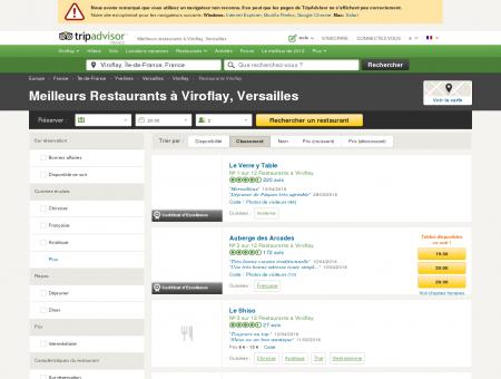 Les 10 meilleurs restaurants à Viroflay -...