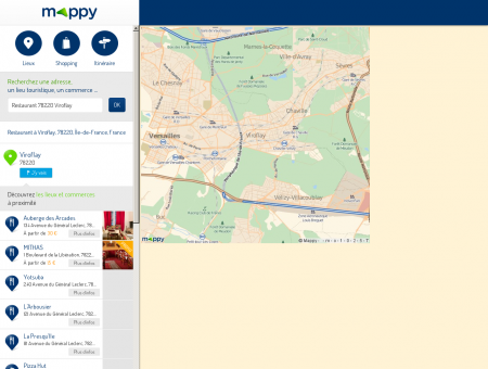 Restaurant à Viroflay (78220) - Mappy - Plans ...