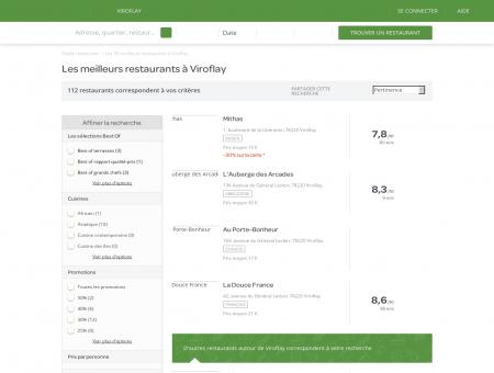 Restaurants Viroflay - Restaurants Viroflay : réservez.