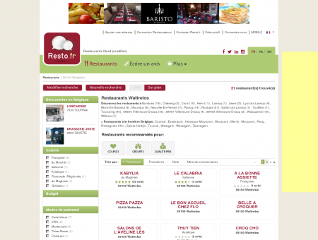 Restaurant Wattrelos - Guide Restaurants...