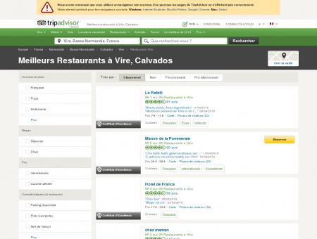 Les 10 meilleurs restaurants à Vire - TripAdvisor