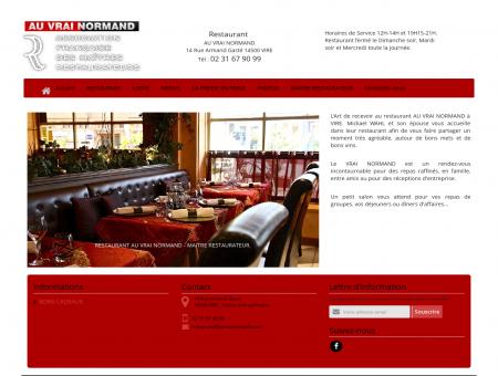 Restaurant gastronomique à VIRE | Au Vrai...