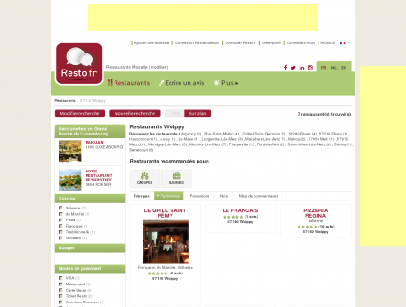 Restaurant Woippy - Guide Restaurants...