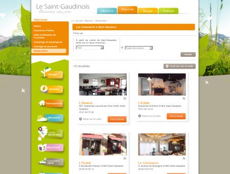 restaurant saint-gaudens