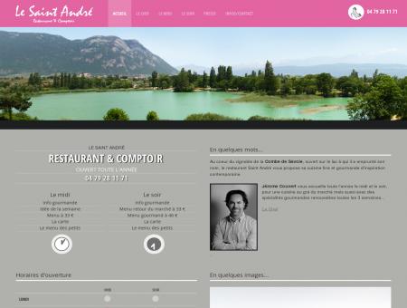 Le Saint André restaurant - Lac de St André -...